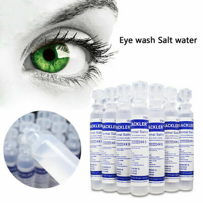 15ml Baby Sterile Saline Solution NaCl 0,9% Nebulizer Nose Ear Eye Wash Sal H5B9