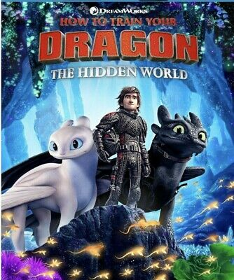 How To Train Your Dragon The Hidden World brand new dvd 5/21