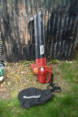 Mountfield Electric Leaf Blower/ Vacum BE2800 Colection Wakfield