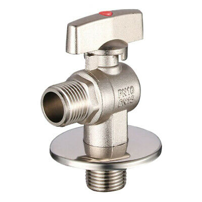 G1/2 Shower Valve Head Shut Off Faucet Switch Tap Connector Valve Red Point
