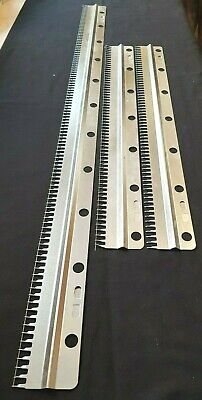 5) Brother Knitting Machine Parts Kr260 Ribber 9Mm 3 Piece Cast On Comb Set