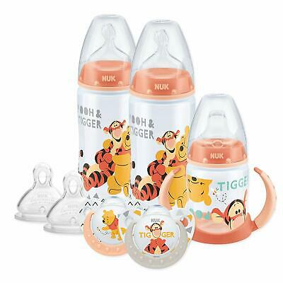 Nuk Disney Baby Bottle Set Soother Dummies Sippy Cup Teats Winnie + Pooh Design