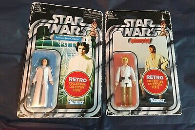 2019 Star Wars Retro Collection Luke Skywalker And Princess Leia New Target