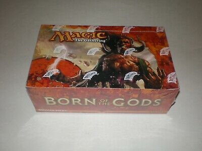 Magic the gathering BORN OF THE GODS Booster Box 36ct SEALED!!