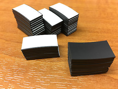 50 x Magnetic Dots Square Strips For Save The Date Cards - JUST PEEL & STICK ON