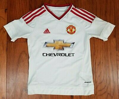 Clothing, Shoes & Accessories New Adidas Climacool Manchester United Short Sleeve Soccer Jersey Boys Xl Kids' Clothing, Shoes & Accs