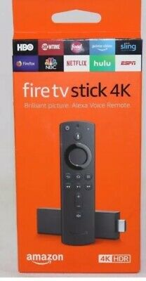 BRAND NEW!! Fire TV Stick 4K HDR with Alexa Voice Remote, streaming media player