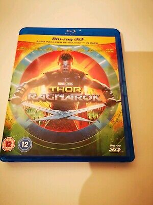 Thor: Ragnarok (3D Edition with 2D Edition) [Blu-ray] like new