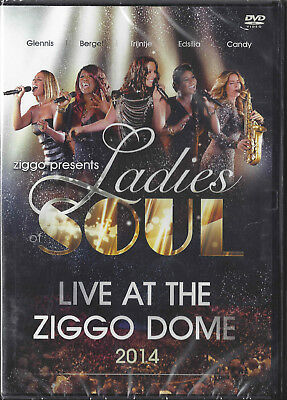 Ladies of Soul - Live at the Ziggodome 2014  dvd Glennis Grace, Candy Dulfer