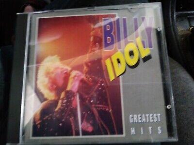 BILLY IDOL Greatest Hits 1983-1994 CD German Import 17 track music free shipping