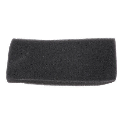 Black Universal Motorcycle Engine Air Filter Foam Sheet for Yamaha PW 80