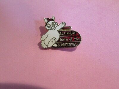 "Blairmore ""Home of the Bunnyspiel"" Curling PIn"