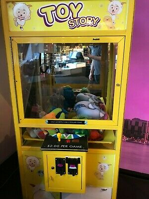 Toy Story Claw Machine prize redemption coin operated crane arcade machine A+++