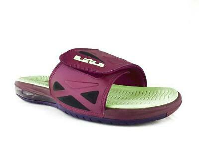 cheap for discount 98166 885a5 Nike Air Lebron II 2 Elite Mens Size 11 Rasberry Slides Sandals