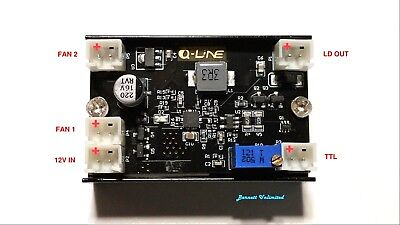 5A Adjustable Buck / Constant Current / Laser / LED Driver w/ TTL/PWM Modulation