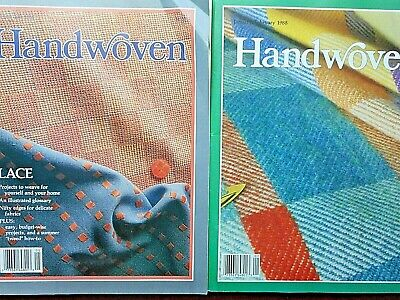 Handwoven Magazine  Lot of 2 1988 see details
