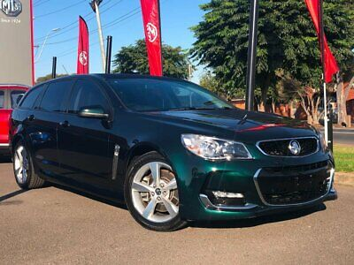 2015 Holden Commodore VF Series II SS Green Automatic 6sp A Wagon
