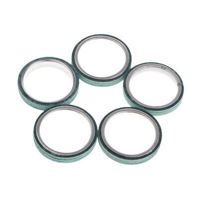5 Pieces Exhaust Pipe Gaskets for GY6 125cc 150cc Scooter Moped Motor
