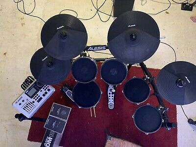 Alesis DM10 Mk1 Mesh Electric Drum Kit In Good Condition