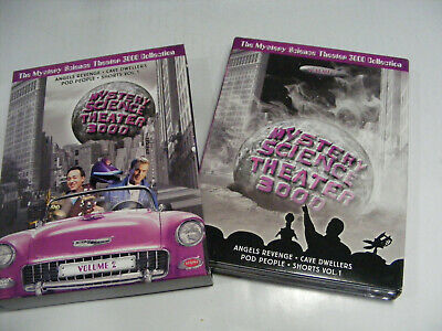 Mystery Science Theater 3000 Volume 2 DVD 2002 4-Discs