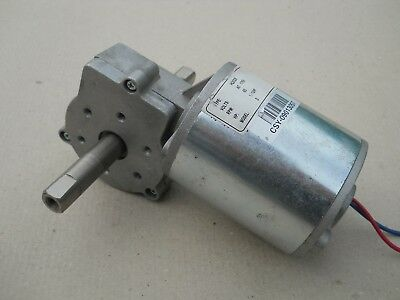 Angular Worm Gearbox e-motor 7712z rp-q-180w 12v 55nm 60rpm 50:1 right turn left