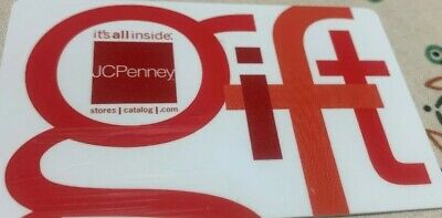 J. C. Penny Store Credit Gift Card Value $119.09
