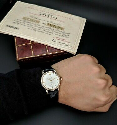Omega Automatic Vintage 1950 / Box and Papers