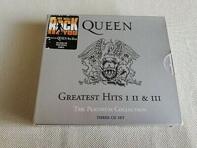 QUEEN Platinum Collection, The - Greatest Hits Volume 1, 2 & 3 CD