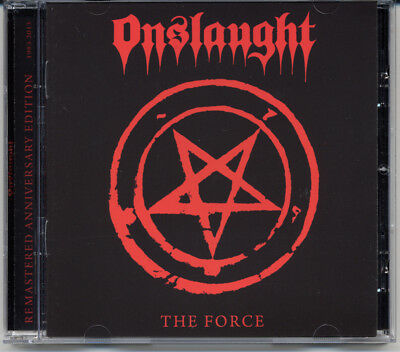 """Onslaught """"The Force"""" 1986, CD"""