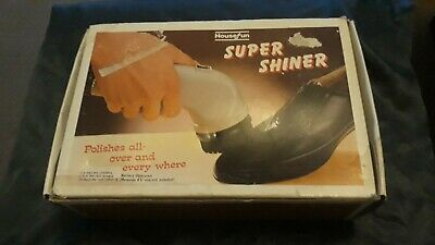 Working Super Shiner By House Fun Vintage Shoe Shine Polishing Nugget.