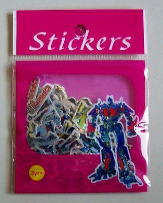 ca. 100 Glitzersticker Transformers