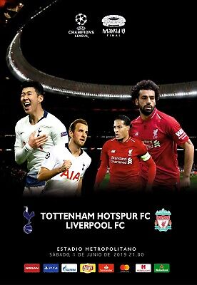 Pirate programme Tottenham Hotspur v Liverpool 1.06.2019 Champions League