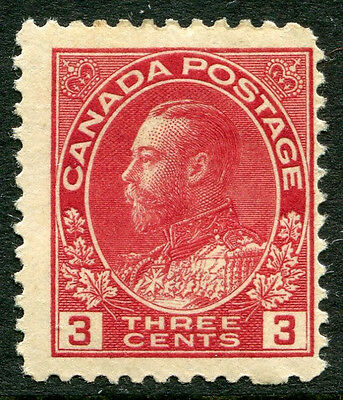 Canada #109 Fine Lumière Charnière Issue - King George V - S6217