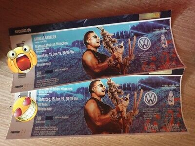 2x Front of Stage Tickets Andreas Gabalier München Sa. 15.06.2019 FOS Ganz Vorn!