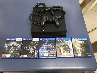 Sony PlayStation 4 PS4 *PRO* 1TB Genuine Wireless Controller GAMES