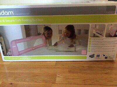 Lindam Pink Folding Bed Rail Guard