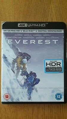Everest 4K UHD (+ Blu-ray & Download) BRAND-NEW & SEALED
