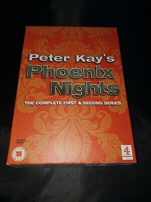 PETER KAY'S KAY PHOENIX NIGHTS THE COMPLETE FIRST & SECOND SERIES DVD Box