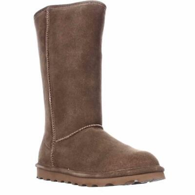 Bearpaw Elle Tall Shearling Lined Water Resistant Winter Boots, Hickory
