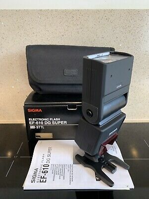 Sigma EF-610 DG ST Shoe Mount Flash