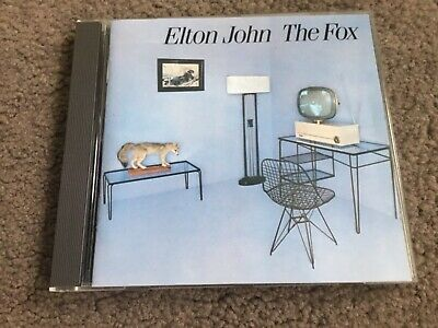 "ELTON JOHN ""The Fox"" cd 1983 Rocket Release.Rock.Very Good Condition."