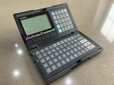 Casio SF-4000 Data Cal Calculator Databank Retro Vintage