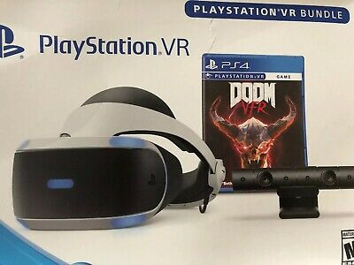 PS4 Play Station VR With PowerA Charging Stand Bundle