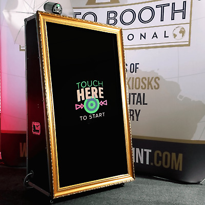 PBI Mirror 2 Photo Booth Ultimate Package for Business - Life Time Tech Support