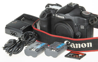 Canon EOS 50D DSLR +2 battery +Video Recording +16Gb CF *good condition*
