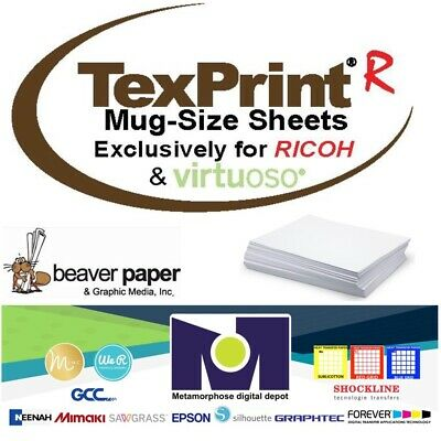 TEXPRINT R Sublimation Transfer Paper for Ricoh/Virtuoso 110Sh/Pack By Beaver