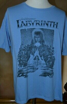 cdd06548a DAVID BOWIE LABYRINTH Movie T Shirt Vintage Retro Jim Henson Graphic ...