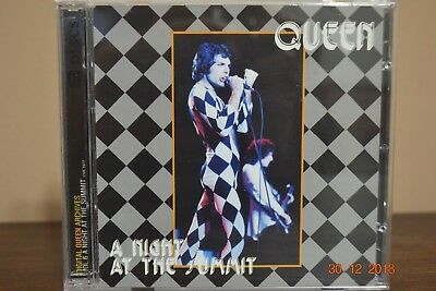 "Queen Extreme Rare 2Cd Houston Live In Concert ""A Night At The Summit"""