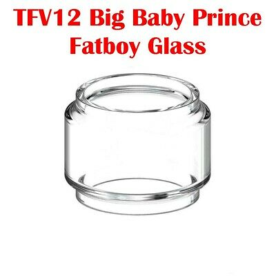 SMOK TFV12 Big Baby Prince Tank Glass Fatboy Bubble Extended Replacement Vape