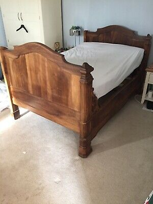 Antique French Queen/small Double Bed/large Single